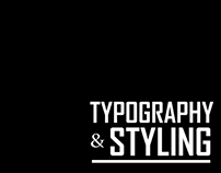 Typography & Styling