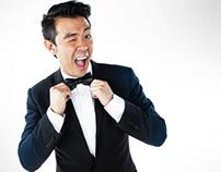 Stand-up Comedian Wonho Chung Shoot For Abu Dhabi TV