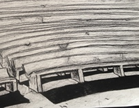 Stairs charcoal _ 2010