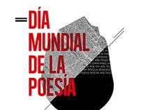 Cartel Día de la poesía