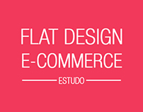Flat Design E-commerce - Estudo