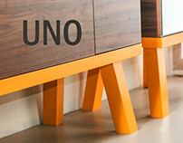 Uno, furniture set for the corridors