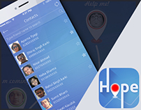 emergency app concept for iOS7