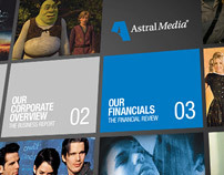 Annual Report 08 (Astral Media) // Pitch designs