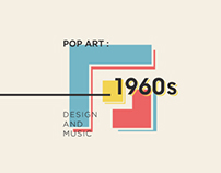 Title Sequence, POP ART: Design and Music 1960s