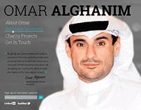 Omar Alghanim webiste