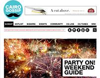 Cairo Gossip website