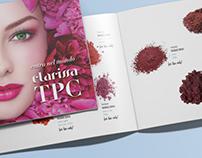 Landscape brochure for Clarissa Nails