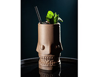 Tiki Mugs /// a collection of 3D printed glass covers