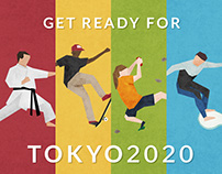 GET READY FOR TOKYO 2020