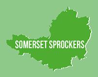 Somerset Sprockers Logo Banner