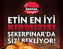 BEEVES BURGER - Mailing and Roll Up Design