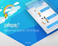 Mobile Feet Scanner UX/UI Design