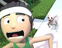 Man Versus Chihuahua - Animation