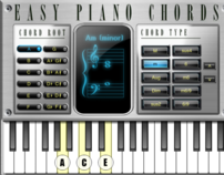 Easy Piano Chords iPad Educational App