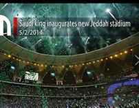 King Abdullah Stadium Opening Show - Jeddah
