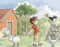 Children's book illustrations - Kırmızı Kedi 2014