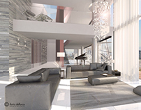 Luxurious penthouse in Mexico City @ d'IDO Studio