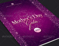Mother's Day Gala Program Template