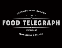 "Logo design - ""The Food Telegraph Restaurant"""