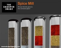Sharper Image Spice Mill