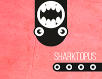 Sharktopus Skateboard Deck