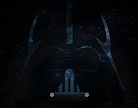 Empire Strikes Back - Vader Tribute Poster