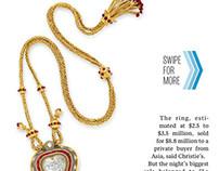 Interactive Editorial :: Liz Taylor's Jewelry