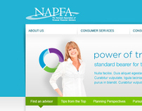 NAPFA Identity & Website Design