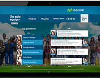 """[MOVISTAR VENEZUELA] Website y WebApp """"Un solo equipo"""""""