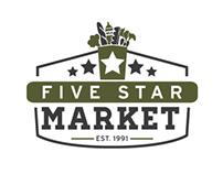 FREELANCE // Five Star Market Logo