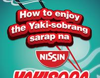 Nissin Yakisoba Sticker
