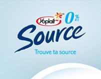 Trouve ta source (Yoplait) // flash website
