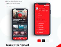 Youtube Concept Design