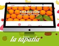 La Tapatía // Diseño Web
