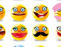 Yellow emoticon
