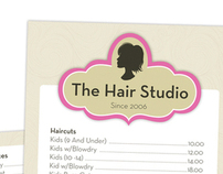 The Hair Studio: Logo and Promotion