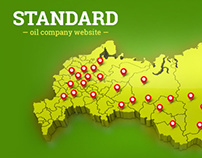 'STANDARD' oil company website