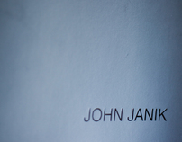 John Janik Press Kit
