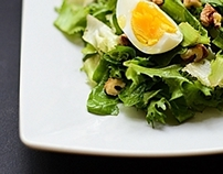 Food photography/Spring salad