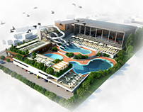 Leisure aqua center Craiova contest entry