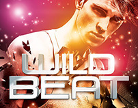 Wild Beat Party Flyer