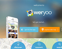 Website front page for weryoo