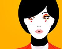 Vampire Girl : Victoria Beckham