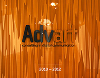 Corporate identity for Advart digital communication