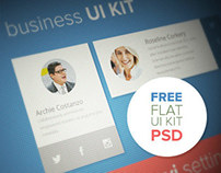 Business UI KIT (Free PSD)