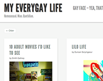 'My Every Gay Life' WordPress Site