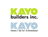KAYO Builders Logos