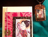 """Beauty"" Necklace & Card"