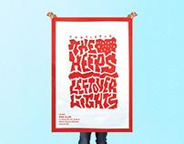 The Heeps + Leftover Lights - Concert Poster